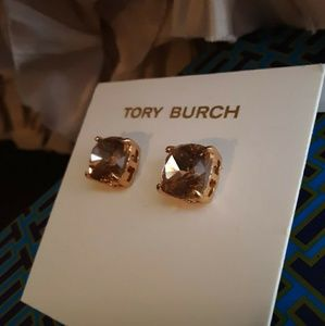 New! Tory Burch Crystal Studs!